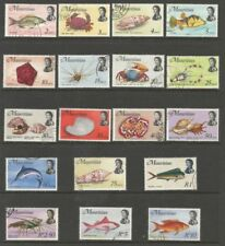 Cats Used Mauritian Stamps