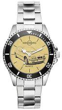 KIESENBERG Uhr - Geschenk für BMW E46 Limousine Fahrer Fans 4256