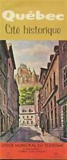 1961 Artist James Damiani Painting QUEBEC CITY Brochure