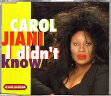 Carol Jiani - I Didn't Know - CDM - 1994 - Italodance 3TR Airplay Records RARE