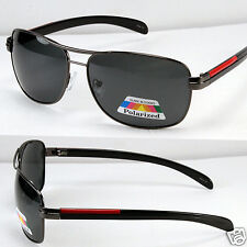 New Black Mens Polarized Lens Sunglasses Fishing Driving Fashion Shades Designer