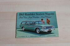 145772) Rambler Station Wagon - USA - Prospekt 1963