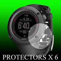 Suunto Ambit 3 RUN Black watch face protector x 6 protection