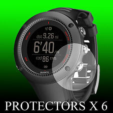 Suunto Ambit 3 RUN Black watch face protector x 6 protection