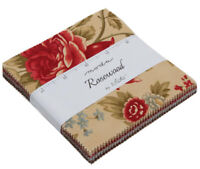 Moda Fabrics Charm Pack - Rosewood by 3 Sisters
