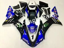 Fit for YZF R1 2002 2003 Black Blue ABS Injection Mold Bodywork Fairing Kit