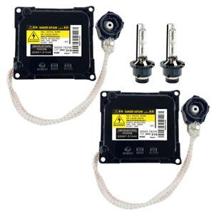 2x New Lexus Toyota Xenon Ballast & D4S Light Bulb Computer Control Controller