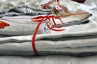 100% PURE LINEN FITTED SHEET FLAX HYPOALLERGENIC USA ALL SIZES DEEP POCKETS ECO