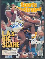 Lakers Magic Johnson Signed May 1988 Sports Illustrated Magazine BAS #MJ17740