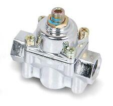 Holley 12-803 Chrome Adjustable Fuel Pressure Regulator 4.5-9 PSI non-EFI
