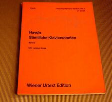 Haydn - Sämtliche Klaviersonaten Band 3 - Wiener Urtext Edition - Klavier Noten