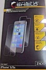New Zagg Invisible Shield Dry Screen Protectors Full Body fits iPhone 5/ 5s/ SE