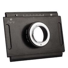 4x5 Large Format Camera to Nikon D90 D80 D70 D3 Adapter for lens for DSLR