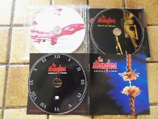 """3 cd STRANGLERS """"About time"""", """"Written in red"""", """"Coup de grâce"""" COMME NEUFS !"""
