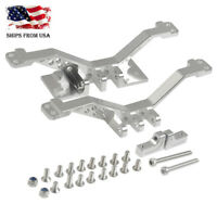 Alloy Front & Rear Axle 4 Link Rod Axle Mount for Axial SCX10 1/10 RC Crawler US