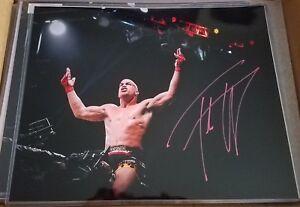 TITO ORTIZ signed 16x20 photo UFC MMA GLOVE POSTER AUTO Conor Chuck Liddell