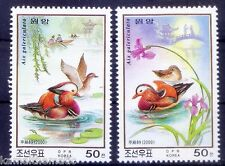 DPR 2000 MNH 2v, Ducks, Bridge, Boat, Water Birds (Bc)