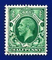 1934 SG439 ½d Green N47(1) Good Used baug