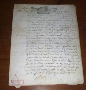 MANOSCRITTO IN PELLE DI CAPRA  1688