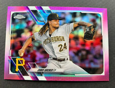 2021 Topps Chrome Chris Archer Pink Refractor Pittsburgh Pirates #188