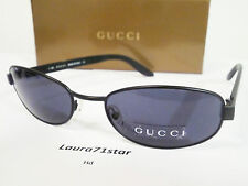 GUCCI 1642 Nero Black Unisex occhiali da sole sunglasses Glamour New Original