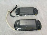 2 Sony PSP Consoles & 4 GB Memory Stick 1001 & 2001 For Parts Or Repair