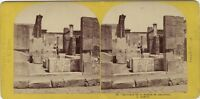 Pompei Casa Salluste Italia Foto Lamy Stereo Vintage Albumina c1868