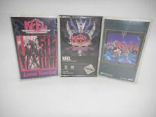 Lot of Three Keel Cassette Tapes Right To Rock, Final Frontier, Larger Than Live