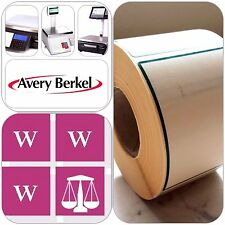 Avery Thermal Scale Labels - Green And Cream 58x76mm, 12 Rolls, 6000 Labels