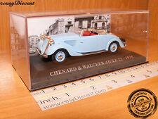 CHENARD & WALCKER AIGLE 22 1936 1:43 WITH BOX ART!!!