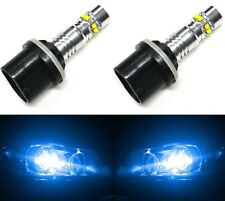LED 50W 880 H27 Blue 10000K Two Bulbs Fog Light Replacement Show Use Lamp