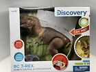 """Discovery Wireless Remote Control RC 16"""" T-Rex Dinosaur Toy Action Figure ROARS!"""