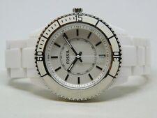 Fossil ES-2442* White Tone Quartz Analog Ladies Watch
