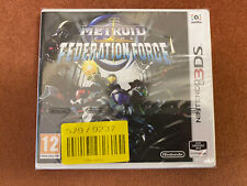 Metroid Prime Federation Force Nintendo 3DS New Free Fast Post