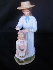Collectibles Figurine Mom Fixing Child's Hairbow Homco Decorative Vintage 8""