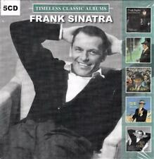 FRANK SINATRA - TIMELESS CLASSIC ALBUMS (NEW SEALED 5CD)