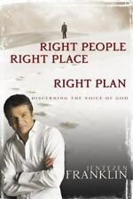 RIGHT PEOPLE RIGHT PLACE RIGHT PLAN JENTEZEN FRANKLIN HARDCOVER BOOK - NEW
