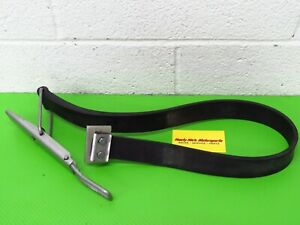 Kawasaki 440 550 js sx OEM Hood Strap Stay Rubber cable hold tie hook latch lock