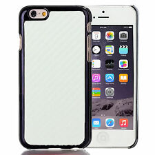"New Luxury Ultra Slim Carbon Fiber Hard Back Case Cover For Apple iPhone 6 4.7"""