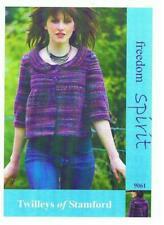 """Twilleys Knitting Pattern Knitted Yoke Jacket 32-42"""" DK Freed Spirit Ladies 9061"""