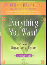 Abraham-Hicks Esther 2 DVD Everything You Want Law of Attraction In Action #7