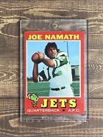 1971 Topps Joe Namath New York Jets #250 Football Card