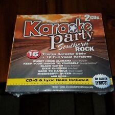 Southern Rock 2 CDs Karaoke Party 16 tracks alabama hand to yourself