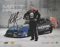 2019 Matt Hagan signed Molar Dodge Charger Funny Car NHRA postcard