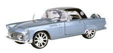 1:18 Ford Thunderbird 1956 American Classics Grey -Motor Max Scale Diecast Model