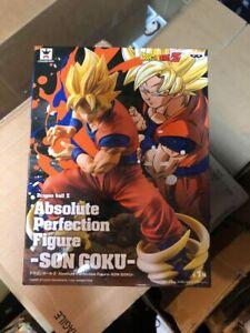 BANPRESTO Absolute Perfection Figure Dragon Ball Z Son Goku Super Saiyan Exposed