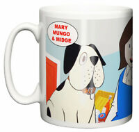 Dirty Fingers Mug, Mary, Mungo and Midge TV series 1960's Retro Gift