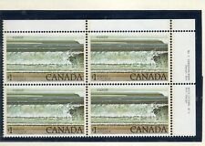 Canada Stamps — Corner Block of 4 — 1979, Fundy National Park #726 — MNH
