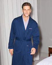 Savile Row Company Navy Luxury Jersey Dressing Gown