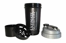 Ultimate Nutrition Smart Shaker 600ml 2 in 1 Protein Cup Bottle optimum animal